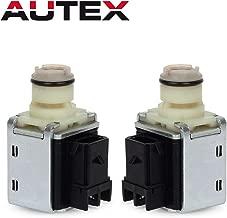 AUTEX 4L60E 4L65E 4L70E Transmission Shift Solenoid Valve Set A&B Replacement For Chevy Astro 93-05/Chevy Colorado 04-12/Chevrolet Blazer 94-05/Cadillac Escalade 04 05/Chevrolet C1500 94-98