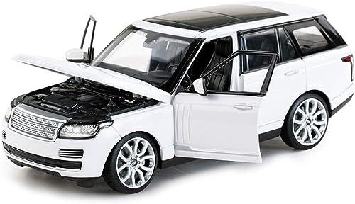 KaKaDz Wei KKD 7-siège SUV Alliage Modèle De Voiture Land Rover Range Rover 1 24 Modèle Jouet Voiture Simulation Voiture Modèle Collection Cadeau Simulation Véhicule ( Couleur   noir )