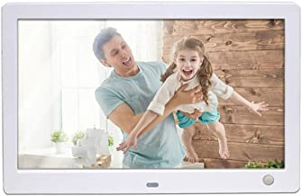10 inch(16:10)Digital Photo Frame, 1280 X 800 IPS Display, Motion Sensor, High HD Screen, 8GB SD Card and Card Reader for phone are Included