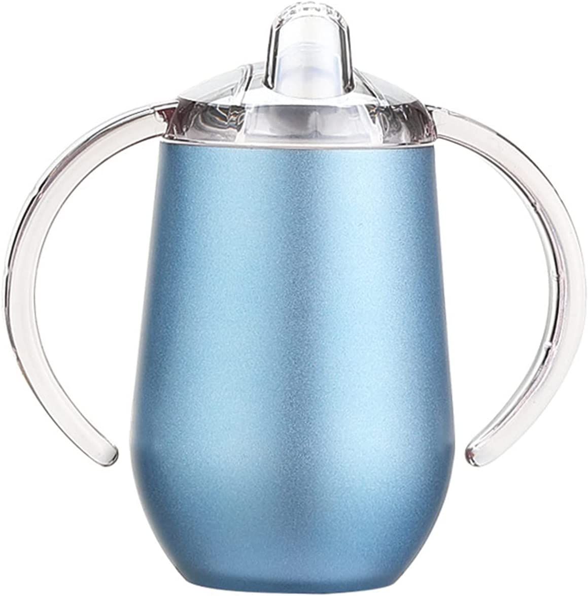 Stainless Steel Sippy Cup Double Attention brand Insulated Wall Tu Vacuum Topics on TV
