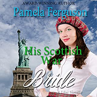 His Scottish War Bride audiobook cover art