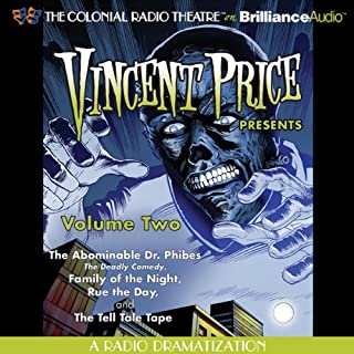 Vincent Price Presents, Volume Two cover art