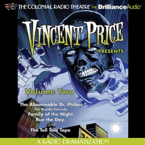 Vincent Price Presents, Volume Two audiobook cover art