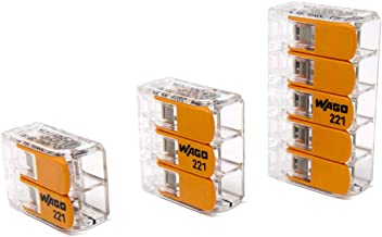 Wago 221 Series Lever-Nuts 10AWG Assortment Pack
