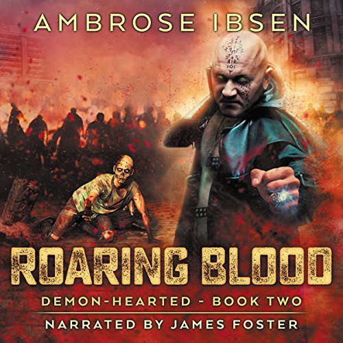 Roaring Blood audiobook cover art