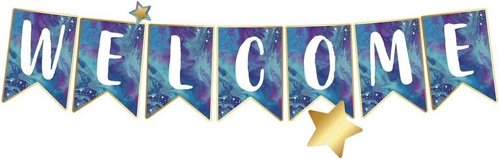 Carson Dellosa Education Galaxy Welcome Bulletin Board Set, 16 P