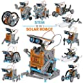 JOYIN Solar Robot Toys 12 in 1 Educational STEM Learning Science Creation Solar Power Building Kit for Kids.