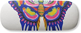 Traditional Chinese Kite Butterfly Pattern Gl Case Eyegl Hard Shell Storage Spectacle Box