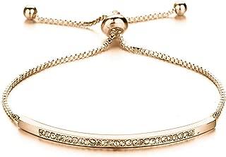 Krystal_beautiful European Fashion Lady Charms Bracelet Cubic Zirconia Brand Bracelet Infinity Bracelets for Women Jewelry Gift