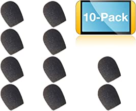 Foam Microphone Windscreen Covers for Plantronics Headsets Supra and Polaris, Encore NC and Polaris Headsets | Compatible: H51N, P51N, H61N, P61N, H91N, P91N, H101N, P101N, PTH100 24316-01 (10-Pack)