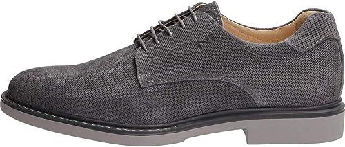 noir Giardini P800182u Osimo Jeans, Chaussures de Ville à à Lacets pour Homme  bienvenue pour acheter