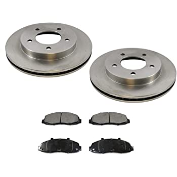 1999 2000 2001 Ford F150 OE Replacement Rotors w//Ceramic Pads F See Desc.