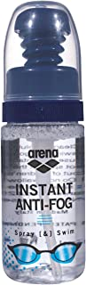 Arena antifog Spray&Swim Goggle Accessories, Adultos Unisex, Transparent, TU