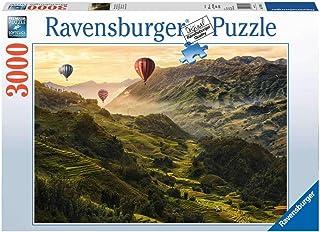 Ravensburger- Puzzle 3000 Pièces Terrasses de Riz en Asie Puzzle Adulte, 4005556170760