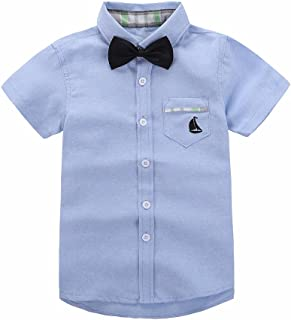 short sleeve polo with bow tie