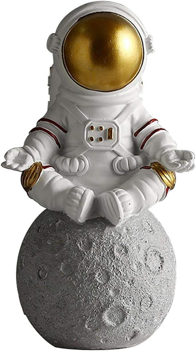 Astronaut Statues Astronaut Sculpture Ornaments Figurine Ornament Tabletop Decoration Desktop Accessories for Home Decor