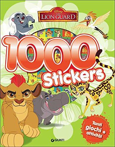 Lion Guard. 1000 stickers. Con adesivi
