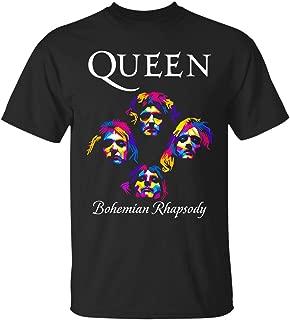 Queen Band Shirt Hoodie Bohemian Rhapsody Freddie Mercury Tshirt