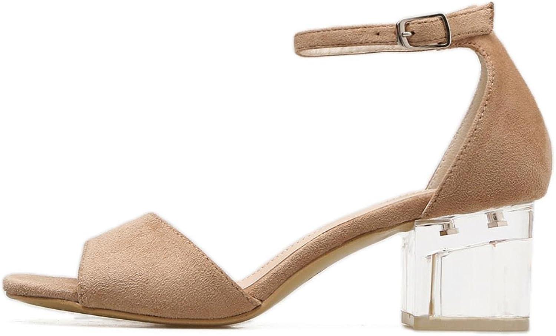 Vintage Elegant Mid Square Heel Women39;S Sandals Summer shoes