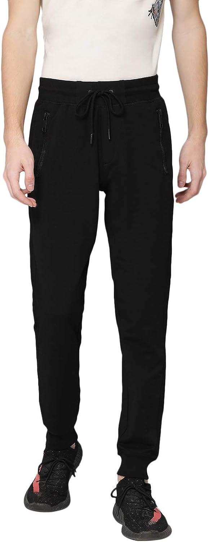 Antony Morato Pant Felpa Slim Basico con Placchetta Pantalones de Deporte para Hombre