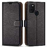 Case Collection Custodia per Samsung Galaxy M21 Cover (6,4') a Libretto in Pelle di qualità...