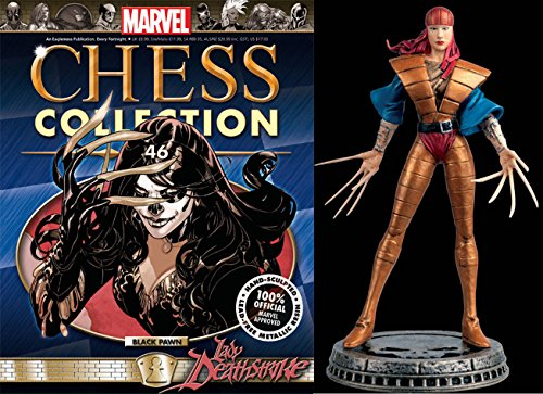 Eaglemoss Marvel Chess Figurine Collection Nº 46 Lady Deathstrike