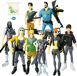 Vercico Fort Game Action Figures Cartoon Toys Anime Collection Decoration Children Gift 8pc
