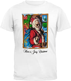 Old Glory Grateful Dead - Jerry Garcia Christmas White T-Shirt