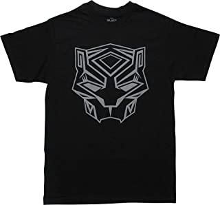 Black Panther Icon Logo Pullover Adult T-Shirt
