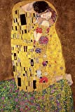 empireposter Gustav Klimt - Der Kuss Kunst Impressionismus