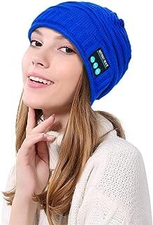 FRCOLT Unisex Bluetooth Beanie Hat Warm Skully Cap Headphone Headset Mic Hands Free