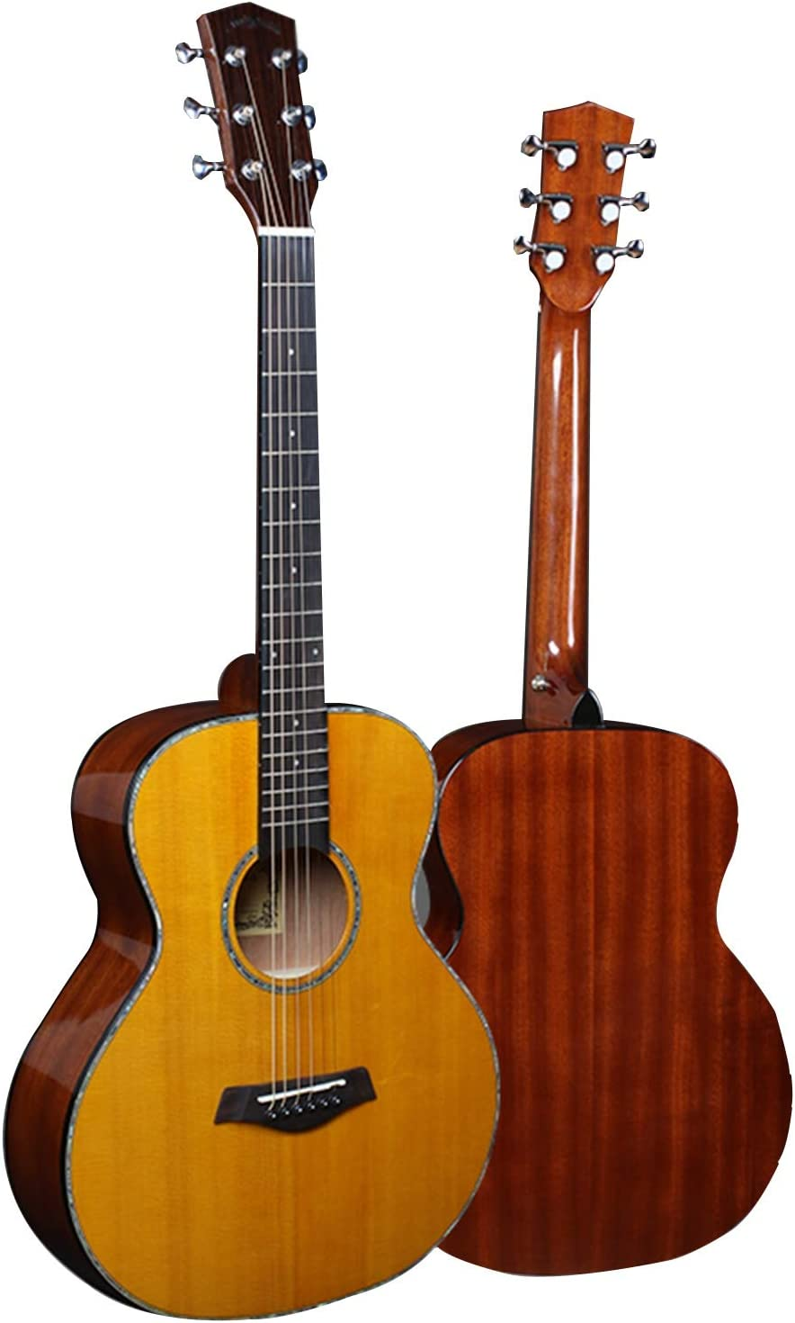 FENGSR 36-inch Dealing full price reduction Acoustic Guitar Student Max 66% OFF Bag Sta Handmade