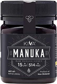 Kiva Raw Manuka Honey, Certified UMF 15+ (MGO 514+) - New Zealand (8.8 oz) - LIMITED TIME SALE!