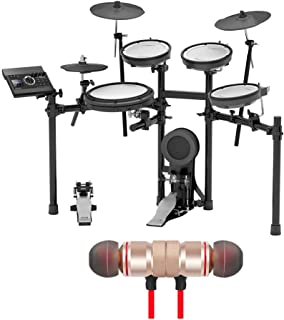 Roland TD-17KV V-Drums Electronic Drum Set Includes Free Wireless Earbuds - Stereo Bluetooth In-ear Earphones