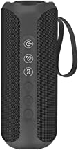 Wharfedale Waterproof Portable Bluetooth Speaker with 20W Stereo Sound,TWS Connection, Built-in Mic, Portable Wireless Speaker for Home and Outdoors (Black)