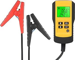 Ferramenta de testador de diagnóstico de bateria de veículo automotivo digital LCD 12V para analisador de bateria de carro
