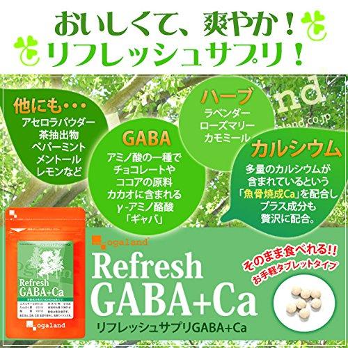 リフレッシュサプリGABA+Ca(270粒/約3ヶ月分)