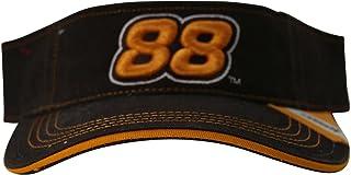 Dale Jarrett Vintage Series Logo Visor Hat Adjustable Brown