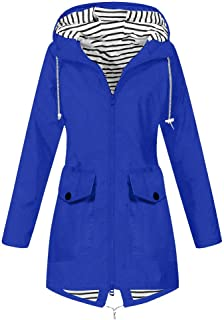 AmazingDays Womens Casual Solid Color Lapel Zipper Long Sleeve Leather Jacket Coat