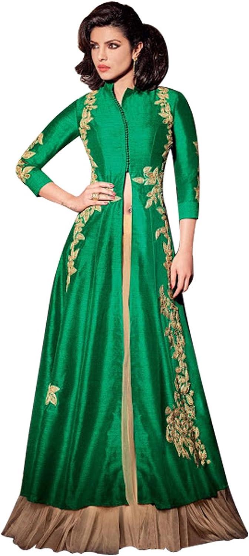 Anarkali Suit Musilim women bridal wedding kaftan hijab ethnic Indian Pakistani Hit 10