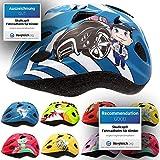 Skullcap® - Casco de bicicleta infantil para niños y niñas de 2 a 7 años - para Bicicleta con y sin pedales o patinete, Niños, Policía., S (48 - 52 cm)