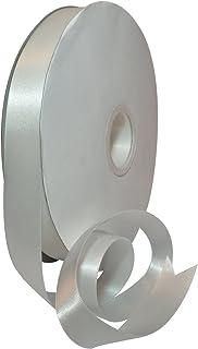 """Morex Ribbon 08822 Double Face Satin Polyester Ribbon, 7/8"""" x 100 Yd, Off White"" (08822/00-000)"