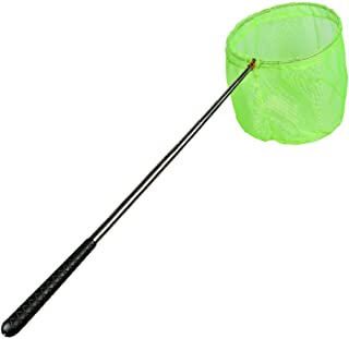 RESTCLOUD Bait Net and Fishing Landing Net with Telescoping Pole Handle Extends to 59 inches