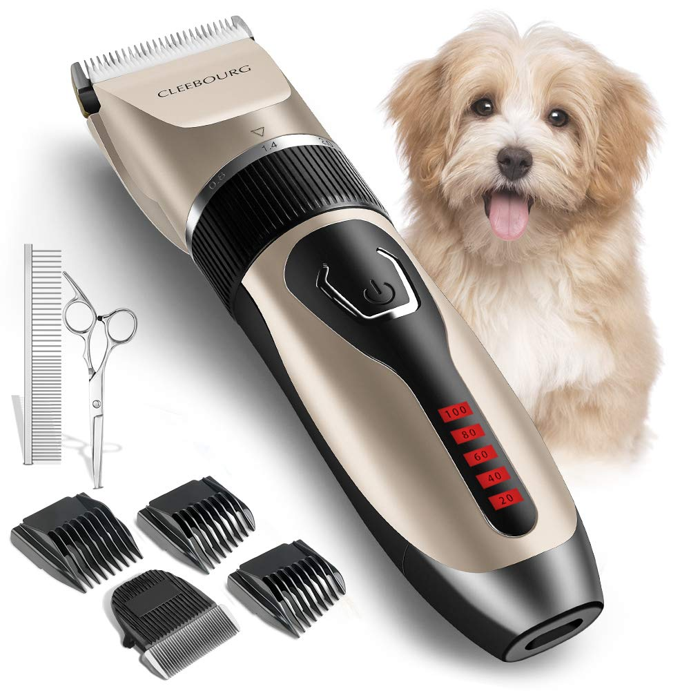 CLEEBOURG Clippers Grooming Professional Rechargeable