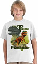 SolarTees Kids Youth T-Rex Predator Solar Color Changing Tee