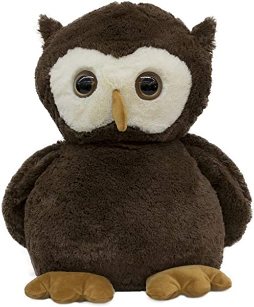 Plush Doll Stuffed Animal Super Soft Huggable Toy For Baby And Toddler Boys Girls Snuggle Cuddle Owl Pillow Stuffed With PP Cotton Filling Great Gift Idea For Birthdays And Holidays