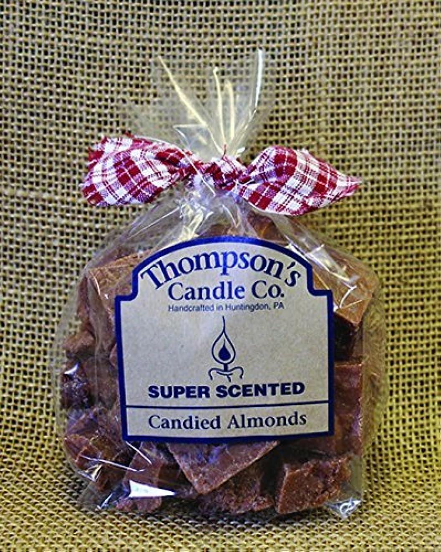 音節仕出します不名誉なThompson's Candle Co Super Scented Crumbles/Tarts/Wax Melts 6 oz Candied Almonds [並行輸入品]