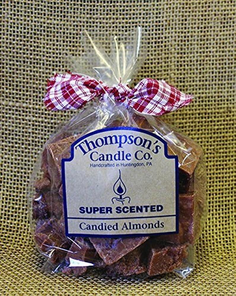 スノーケルマティス罪人Thompson's Candle Co Super Scented Crumbles/Tarts/Wax Melts 6 oz Candied Almonds [並行輸入品]