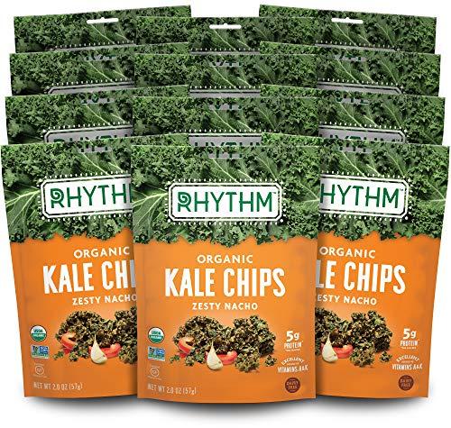 Rhythm Superfoods Kale Chips, Zesty Nacho, Organic