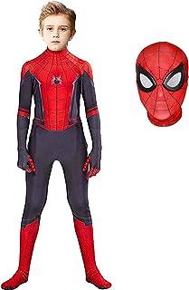 BOMLY Superhero Costume Bodysuit for Kids Lycra Spandex Zentai Halloween Cosplay Jumpsuit 3D Style